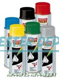 Prisma Spray Hőálló Matt Fekete 400 ml 91073